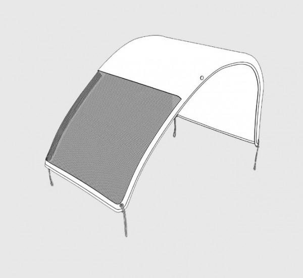 Verdeck 3-in-1 (für Twin XL und Reha-Modelle)